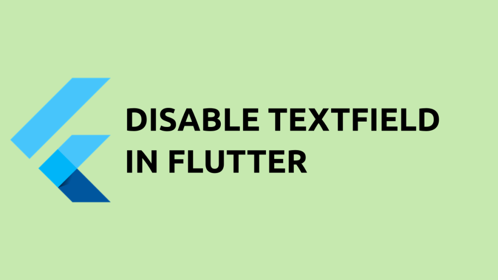 disable textfield