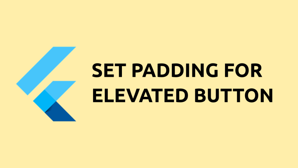 elevated button padding