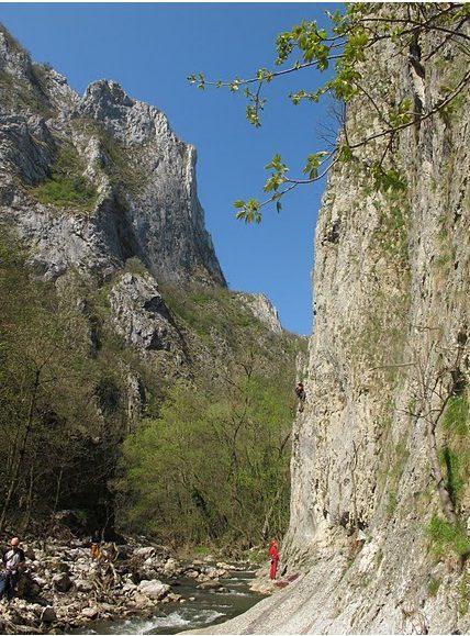 traseu Madona Neagra, Cheile Turzii