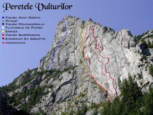 schite trasee alpinism muntii bucegi