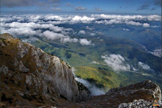 panorama Muntii Bucegi
