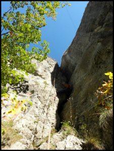 tehnica de escalada
