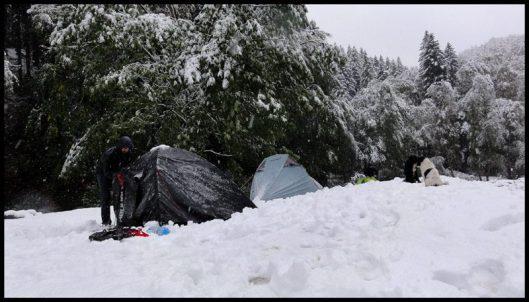 ninsoare in Cheile Rasnoavei
