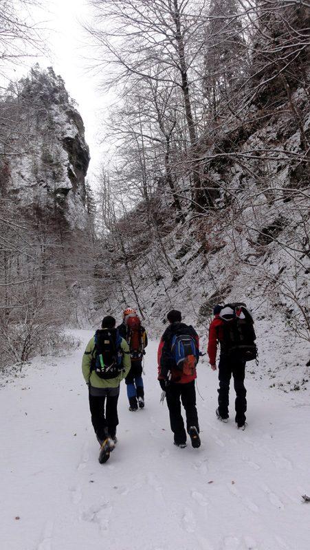 Valea Lotrului iarna