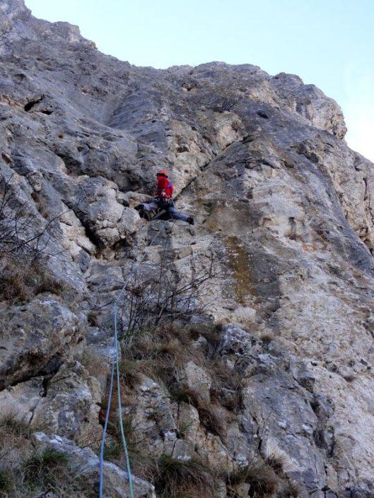 traseul alpinism turnul ascutit, cheile turzii