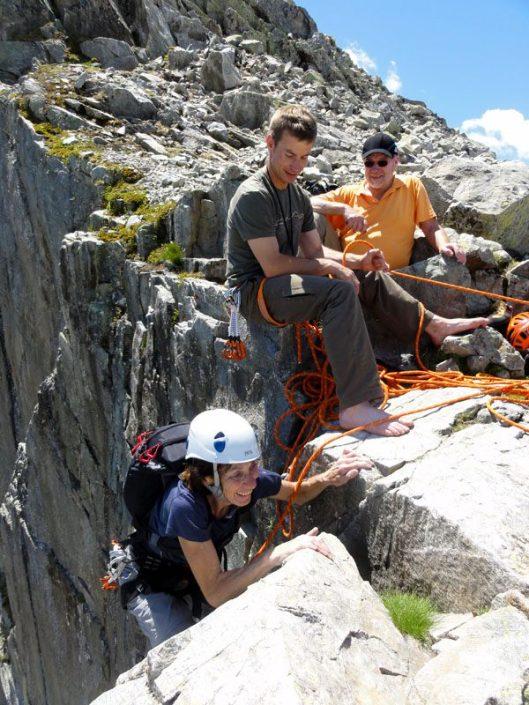 alpinism chamonix, aiguilles rouges