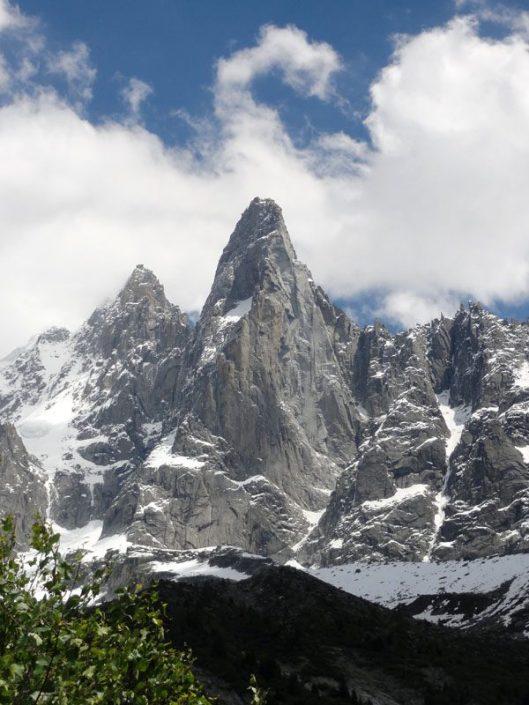 panorama Petit Dru vara