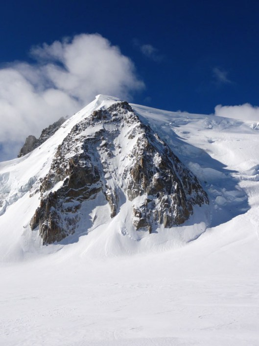 Culoar de gheata Chere, Mont Blanc du Tacul