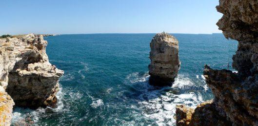 escalada la faleza Marea Neagră