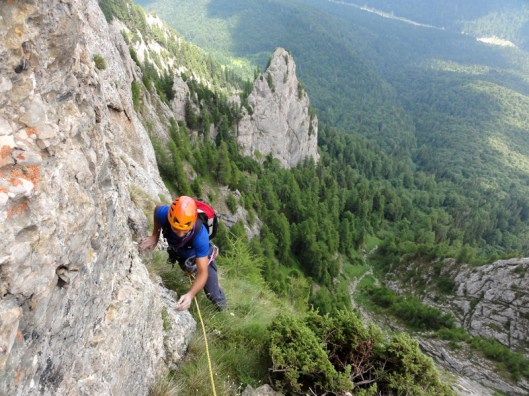 alpinism muntii carpati, Costila