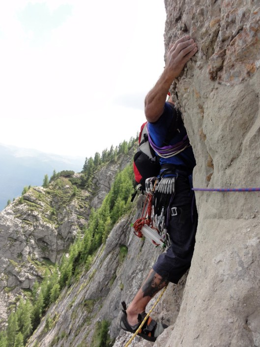 traseu alpinism muntii bucegi, romania
