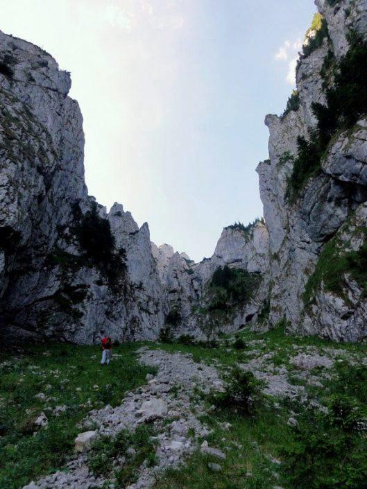 alpinism Piatra Craiului_Traseul Izvor