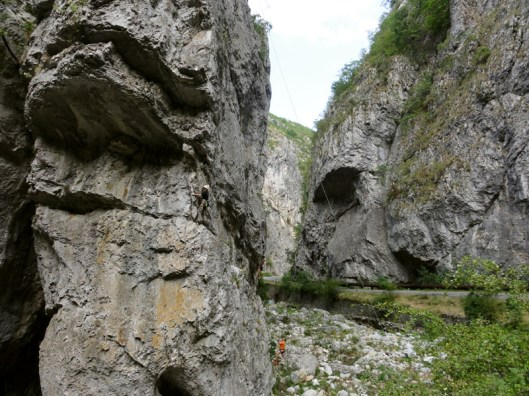 cheile sohodolului_sport climbing Romania
