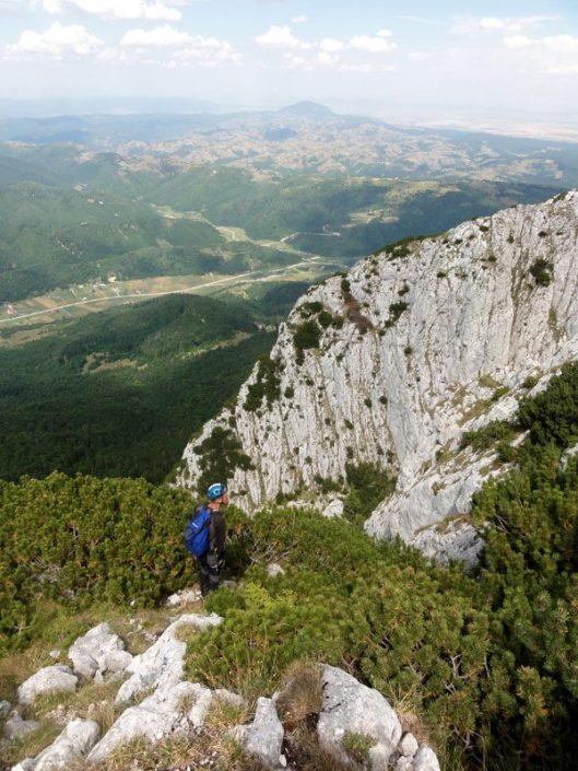 alpinism în Turnul Mare al Dianei