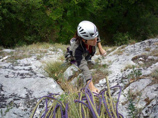 traseul Mielul cel Bland, climbing in Romania