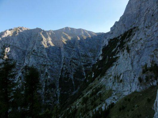 alpinism in Muntii Bucegi