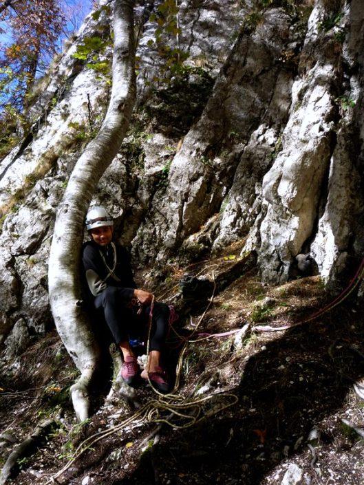 alpinism traseul Cangurului