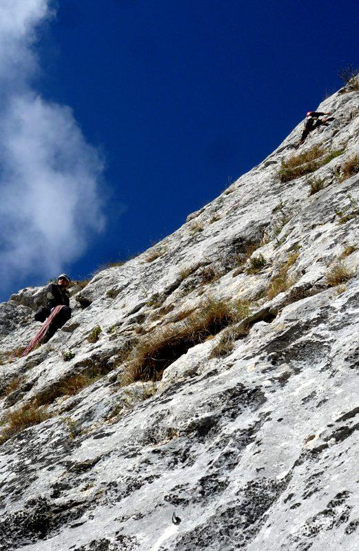 traseul cangurul alpinism postavarul