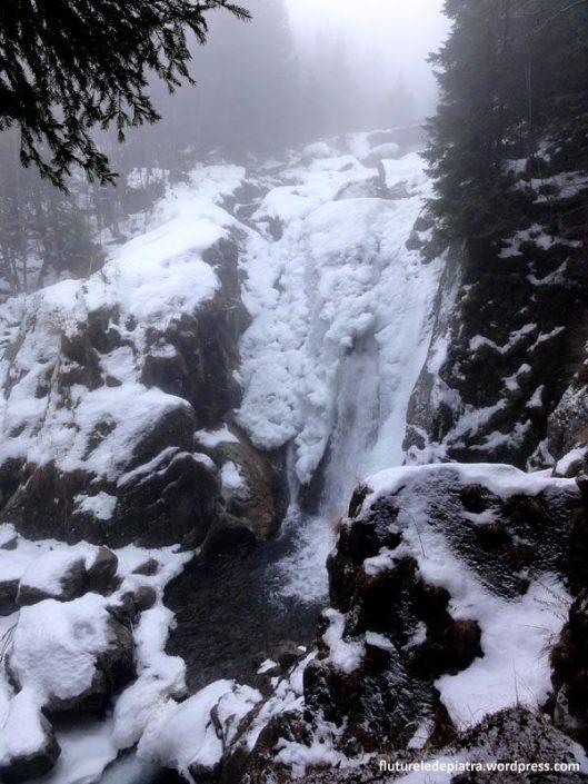 cascada lolaia, muntii retezat