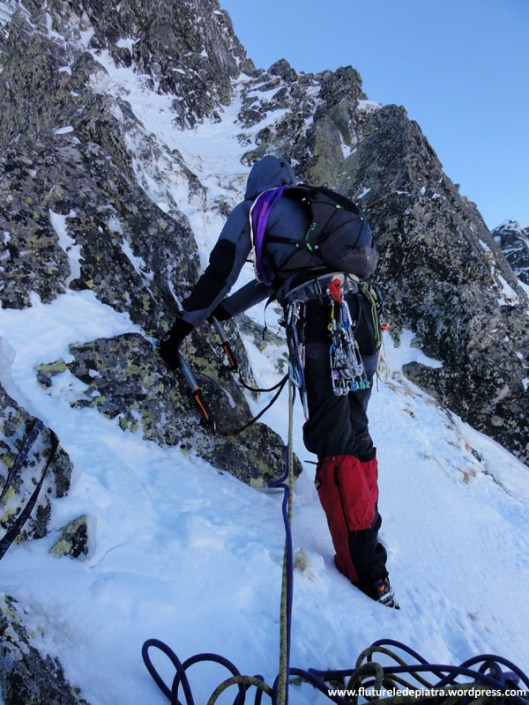creasta vulturilor, alpinism retezat