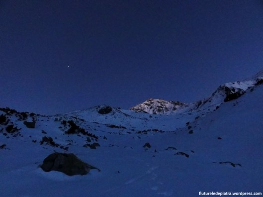 muntii retezat iarna