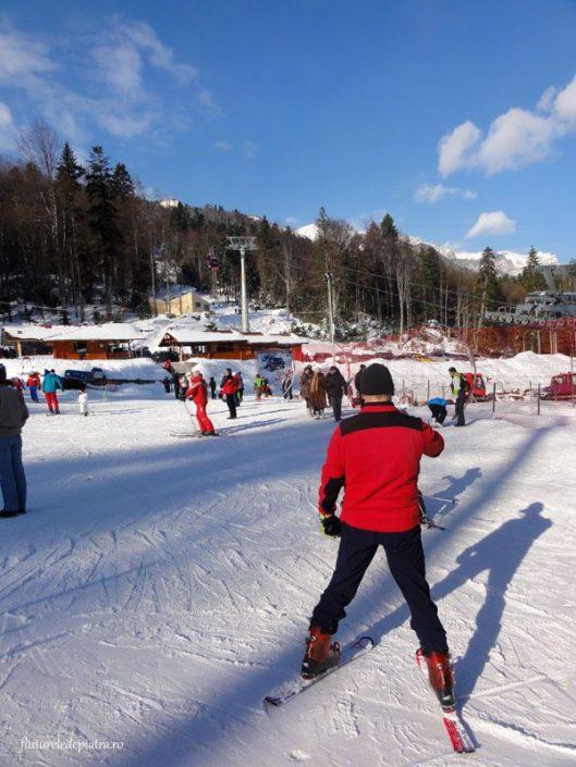 partia sinaia, ski telegondola