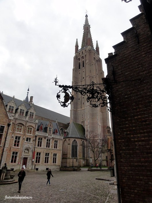the church of our lady, brugge belgium