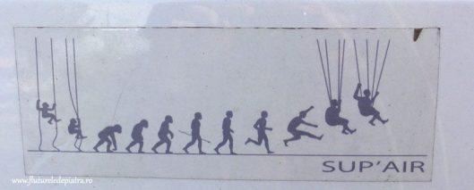 evolutie parapanta parasuta