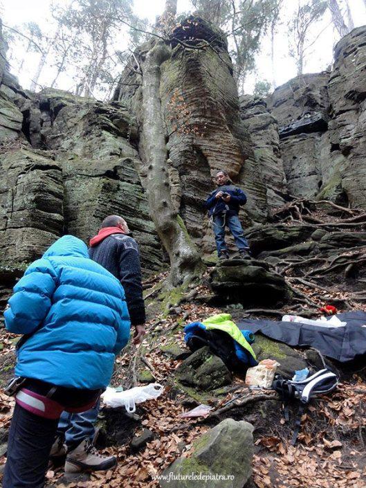 sanstone climbing Berdorf, Luxembourg
