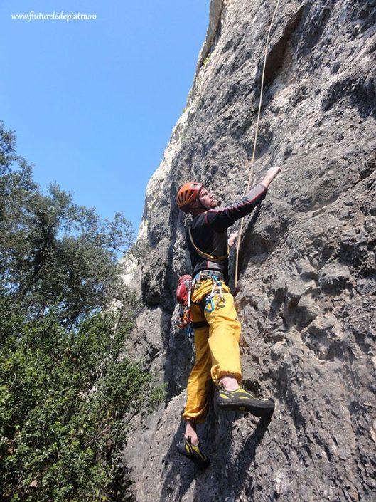 escalada in Aix en Provence, sudul Frantei