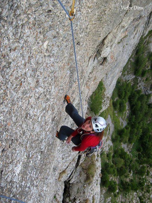 alpinism romania, traseul eneida