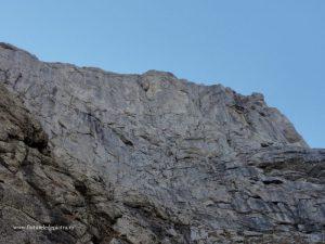 Peretele Gălbinele şi Valea Gălbinele firul principal