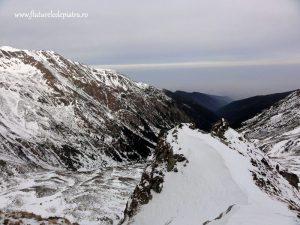 Coltul Balaceni, Muntii Fagaras iarna