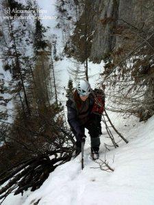 braul lui raducu iarna muntii bucegi 09