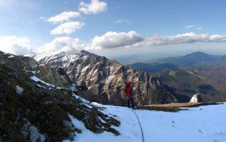 panorama muntii bucegi zapada