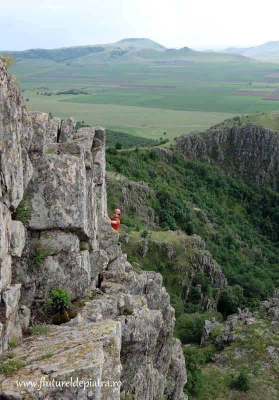 escalada la granit Doborgea