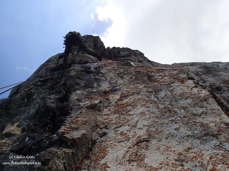 surplomba in turnul mare al dianei, muntii carpati