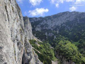 panorama alpinism turnul mare al dianei si padina popii