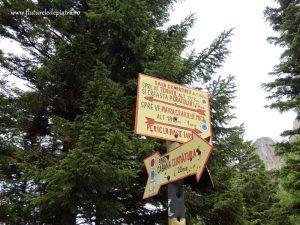 marcaj traseu turistic piatra craiului