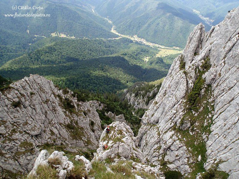 panorama alpinism piatra craiului vara