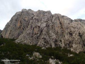 paklenica national parc alpinism