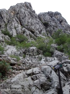 climging in Paklenica