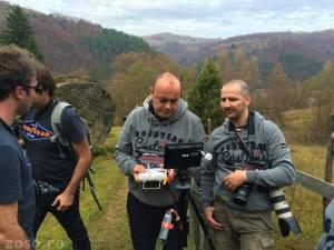 drona la munte