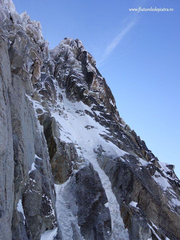 catarare culoar gheata alpi francezi