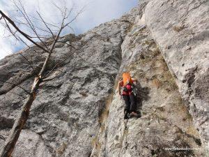 alpinism peretele animalelor, brasov, romania