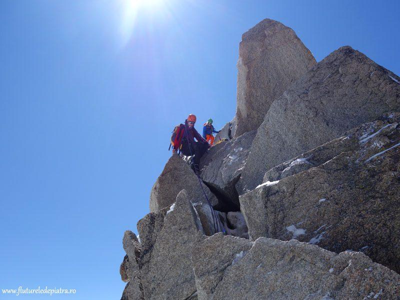 traseu de alpinism vara mont blanc