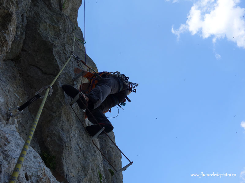 Klin route climbing croatia