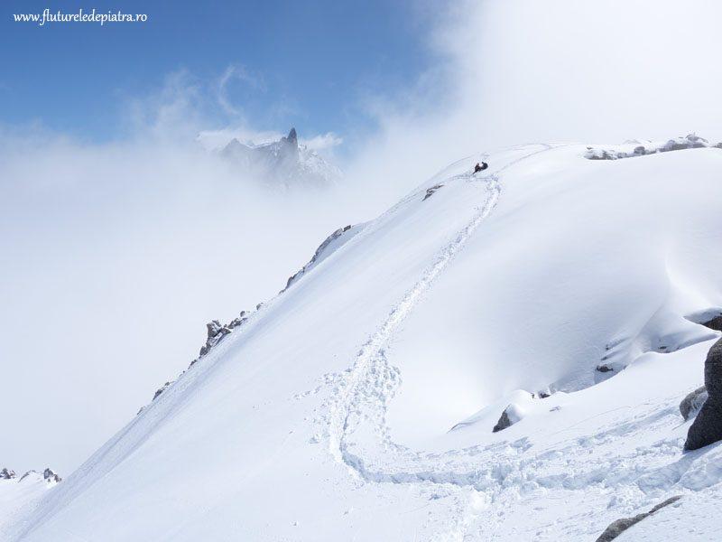 traseu usor alpinism chamonix