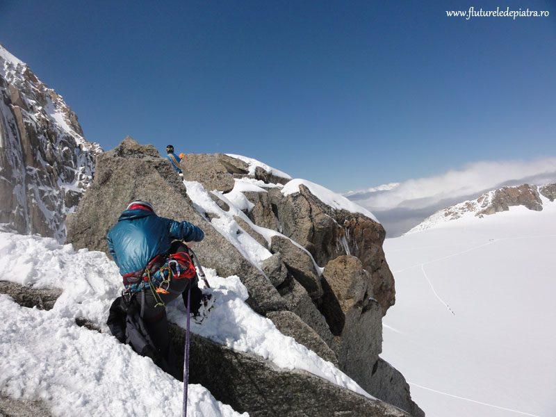 alpinism traseu mont blanc