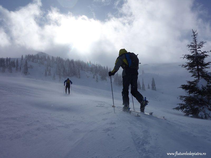 ski tura romania, valcea